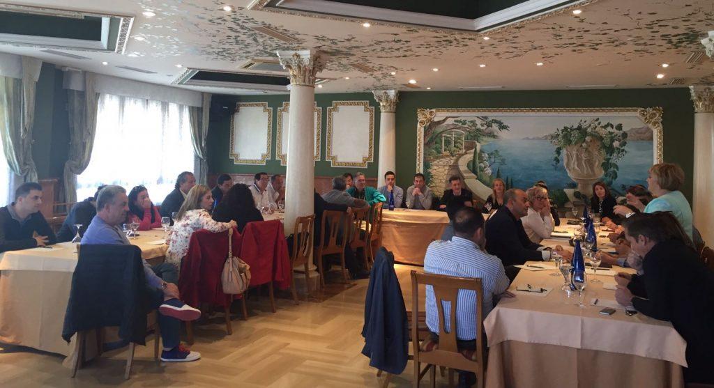 Primera reunión de Contigo para desarrollar los Estatutos y crear grupos de trabajo