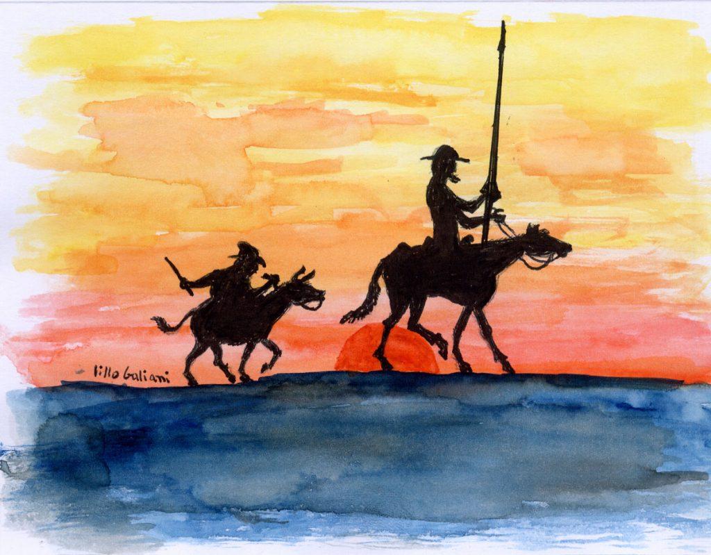 """""""Ladran, Sancho, señal que cabalgamos…"""""""